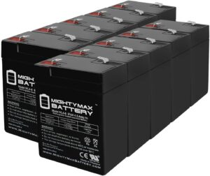 Mighty Max Battery Exit Sign Battery 6V